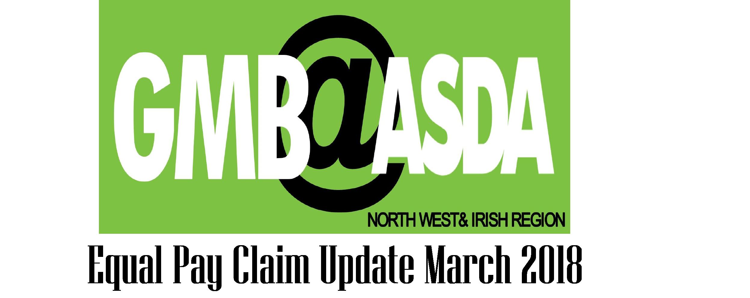 Gmb Update On Asda Equal Pay Claim Gmb Asda Trade Union