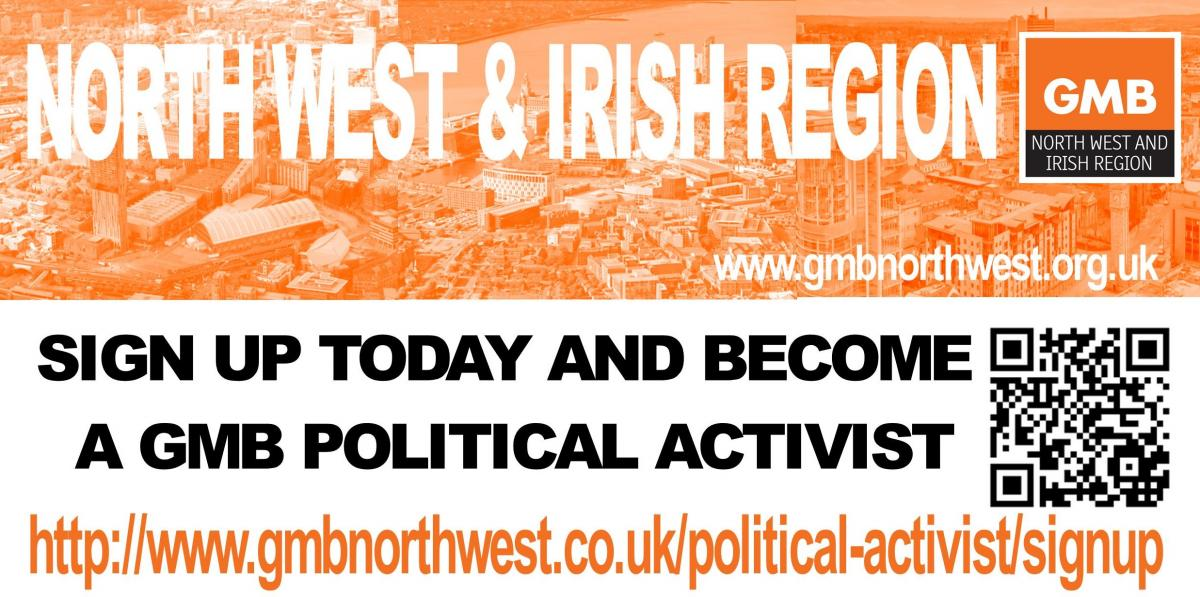 GMB Political Activists - SIGN UP