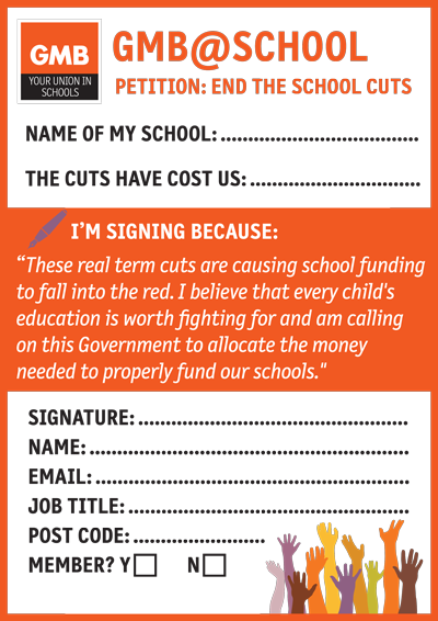 GMB says every childs education is worth fighting for   GMB North