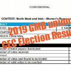 2019 CEC election results
