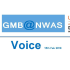 GMB Ambulance trade union Voice news update