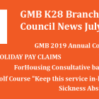 Knowsley Branch news of GMB trade union