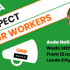 GMB members demo at ASDA 14 Aug 2019