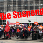 GMB trade union members suspend strike action at ISS