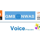 GMB Ambulance union News Nov 2019