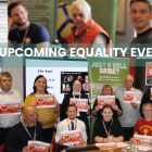 GMB union equalities events