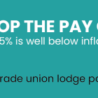 Stop the Pay Cut union opens pay dispute with government