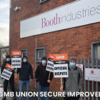 Better Pay for GMB union members at Booth Industries