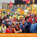 GMB union success at shipyard Harland and Wolff