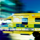 NHS Ambulance trade union GMB Pay Campaign Survey