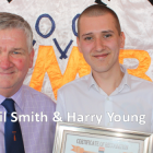 Neil Smith worked with Harry Young on work placement at GMB trade union