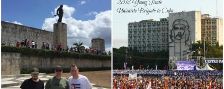 GMB Young Member Ross Holden in Cuba