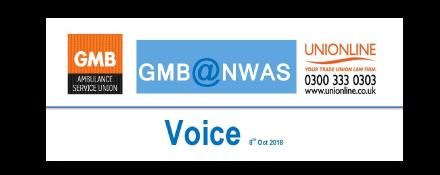 GMB Ambulance trade union news