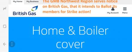 GMB Strike Ballot at British Gas
