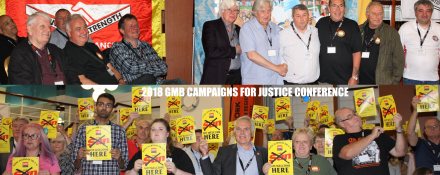 GMB Campaigns for Justice Conference