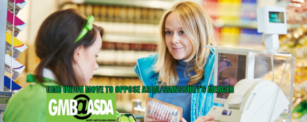 GMB ASDA trade union to oppose merger