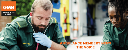 The Voice Ambulance union news
