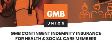 GMB trade union contingent indemnity insurance