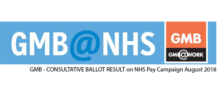 GMB NHS trade union Pay Campaign update