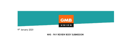 GMB union 18 month NHS Pay Review
