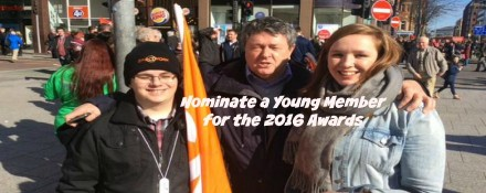 Nominate a young member for the 2016 awards