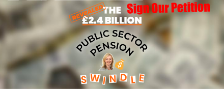GMB trade union Pensions Petition