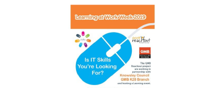 GMB Reachout training at GMB Knowsley K28 branch