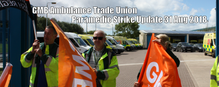 GMB trade union suspend strike action at North West Ambulance Service