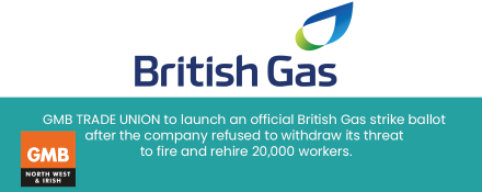 GMB union Ballot British Gas members