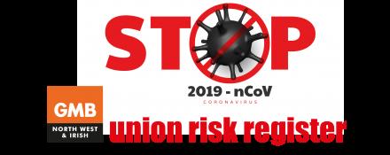GMB union covid-19 register