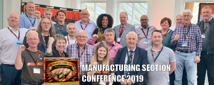 GMB union Manufacturing Section Conference 2019