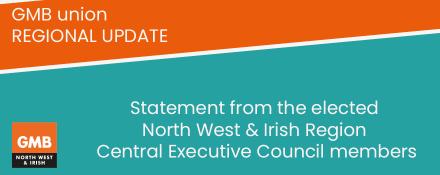 GMB union regional CEC statement