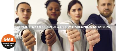 GMB union members reject NJC Pay Offer