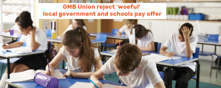 GMB union rejects pay deal
