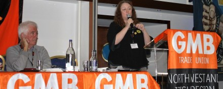 Orgreave Truth and Justice Campaign at 2016 GMB Campaigns for Justice Conference