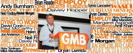 GMB regional secretary Paul McCarthy talks about Justice
