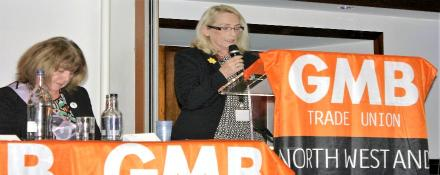 WASPI at GMB Campaigns for Justice Conference 2016