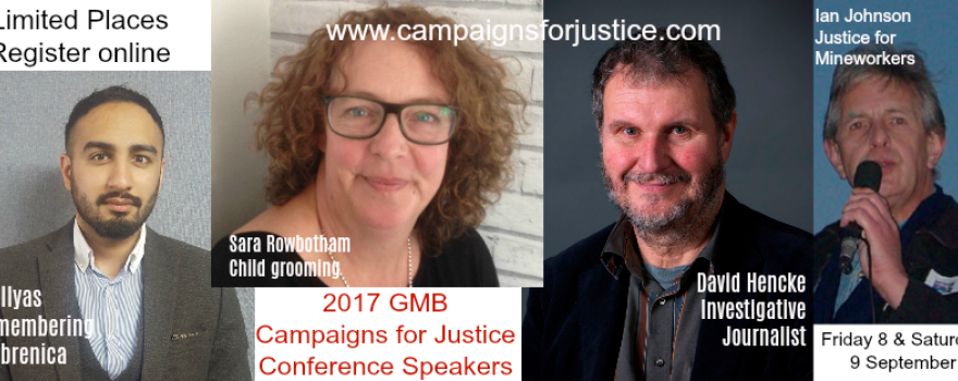GMB 2017 Campaigns for Justice Conference