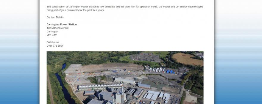 GMB member excel at Carrington Power Station