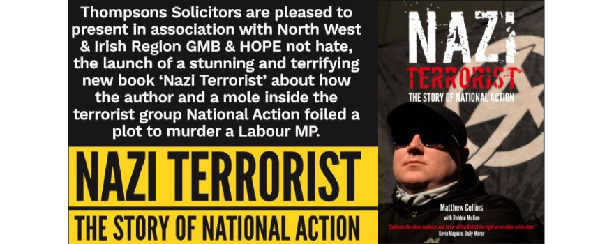 The Story of National Action Nazi Terrorist 17 July in Manchester