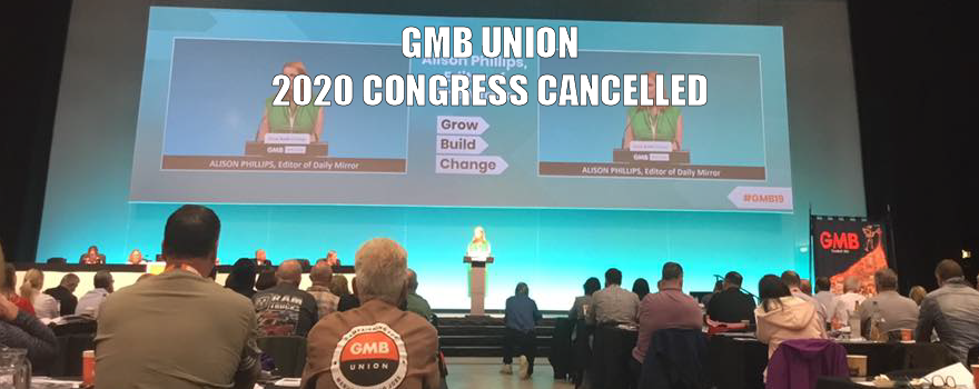 GMB 2020 congress cancelled