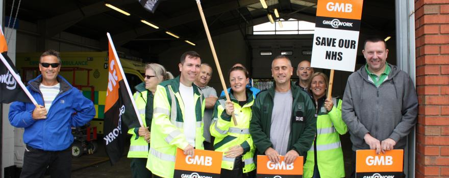 GMB Ambulance Trade Union forced to take strike action
