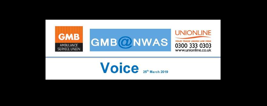 GMB trade union for NHS paramedics and ambulance staff