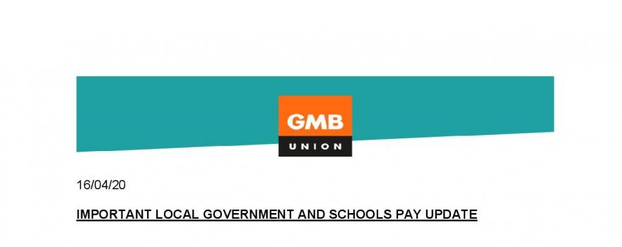 GMB union member pay update