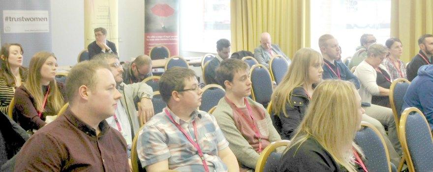 GMB Young Members attending the Irish Congress of Trade Unions' Youth Conference