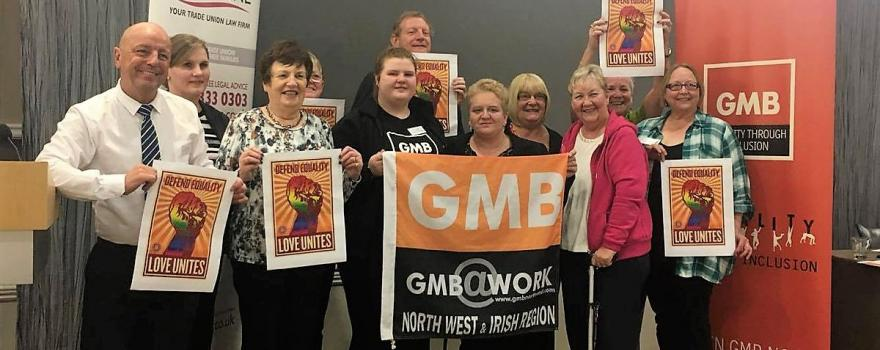 GMB young members at National Equalities Conference