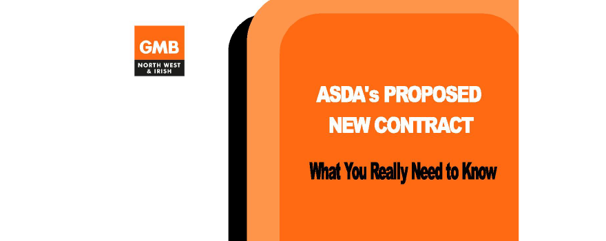 GMB trade union against ASDA wage proposals