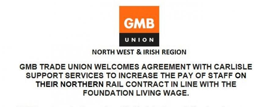 GMB UNION HAPPY WITH PAY INCREASE