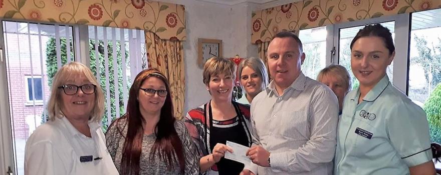 GMB cheque donation
