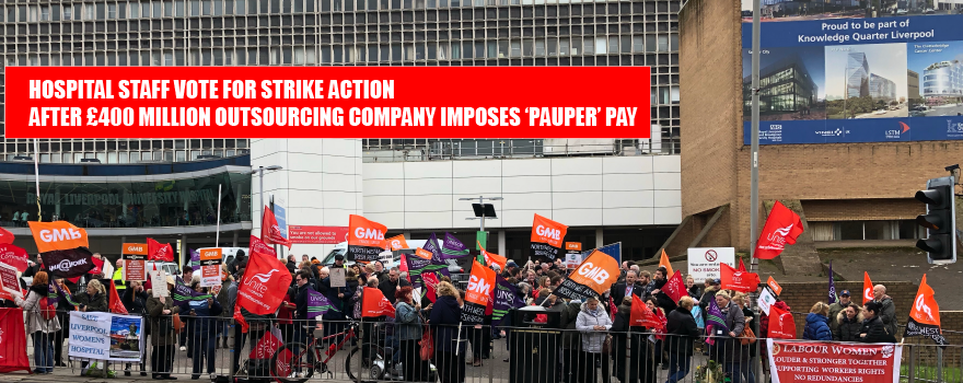 GMB members working at outsourcing company ISS vote to Strike